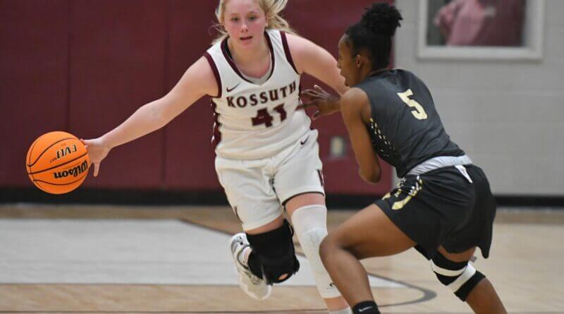 Kossuth girls make return trip to Jackson with win over Amory