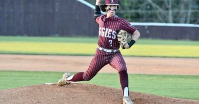Aggies get split against Nettleton to remain on top of 1-3A standings